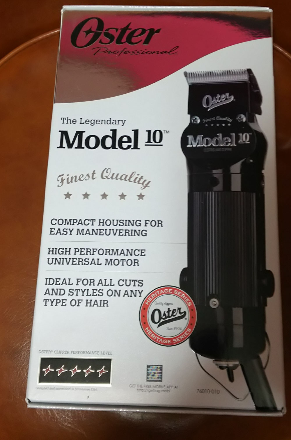 Oster The Legendary Model 10 Classic Clipper