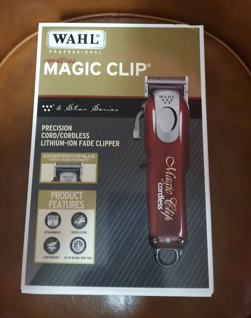 Wahl 5Star Cordless Magic Clip Clipper