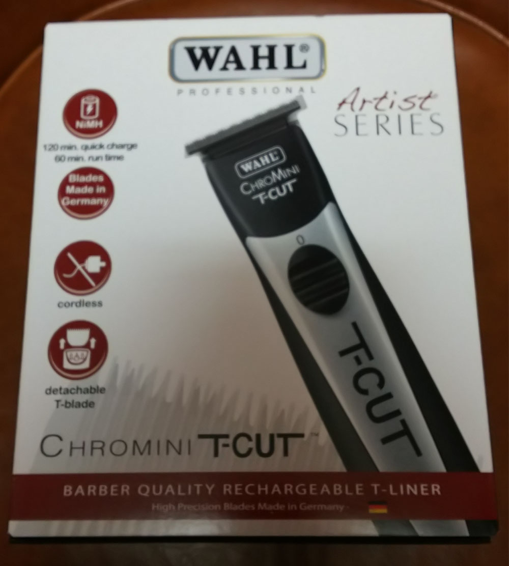 Wahl Artist Series ChroMini T-Cut Cordless Trimmer