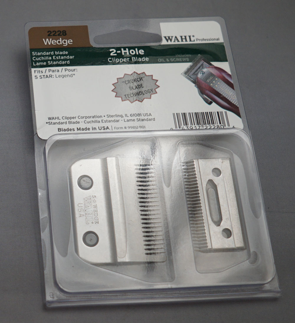 Wahl Wedge 2-Hole Replacement Blade