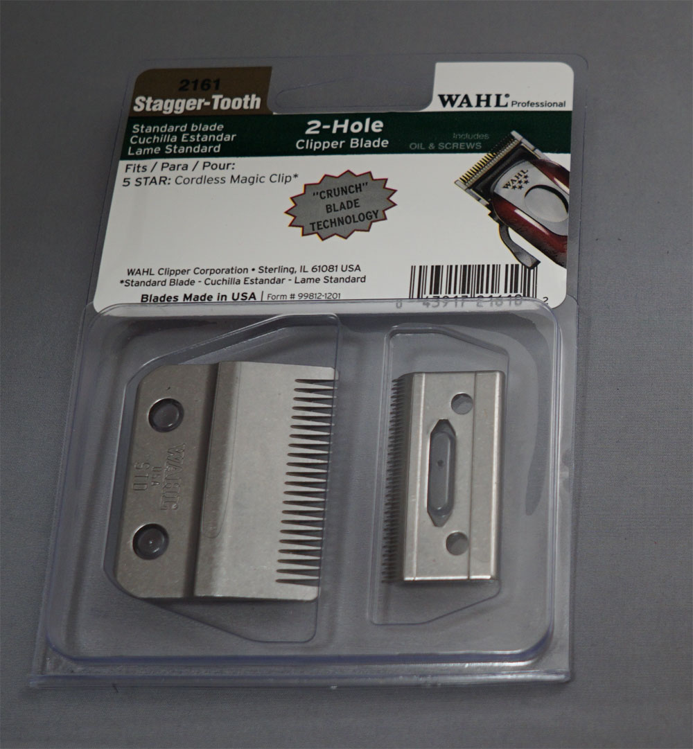 Wahl Stagger-Tooth 2-Hole Replacement Blade