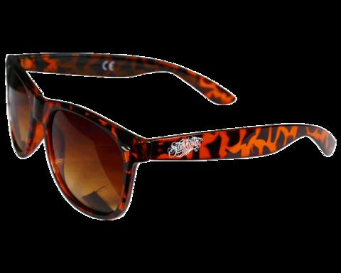 Suavecita Tortoise Shell Skate Style Sunglasses suavecito
