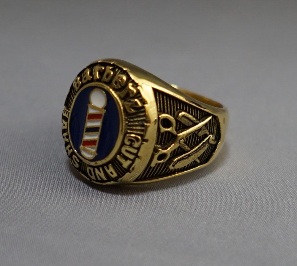 Barberz ring Brass(真鍮)