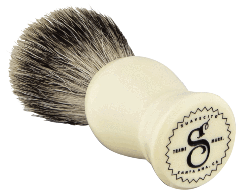 SUAVECITO Resin Shave Brush