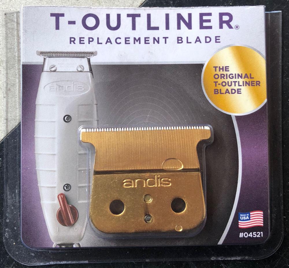 Gold Blade Type: T Outliner blade