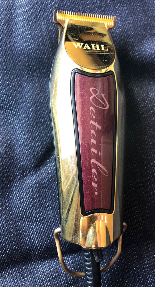 GOLD & Burgundy  CUSTOM Detailer w/ 5 Star T wide blade