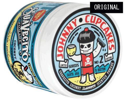 SUAVECITO x Johnny Cupcakes  Original Hold Coconut Scented Pomade