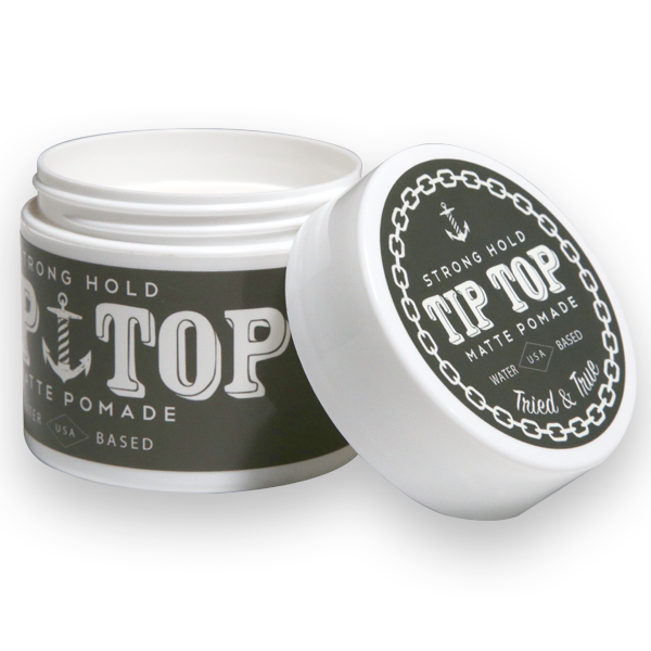 TipTop Strong Hold Matte Pomade