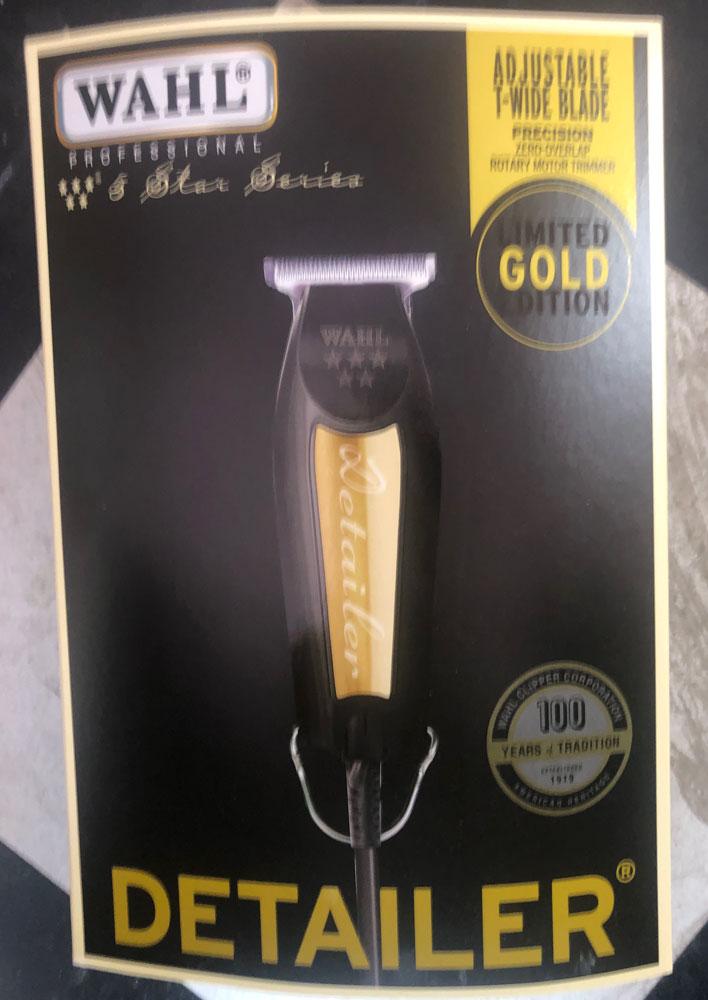 Wahl Professional 5Ster Limited Edition Black& Gold Detailer Trimmer