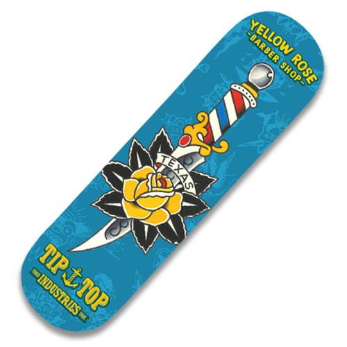 TIPTOP Sketeboard Yellow Rose Skate Deck