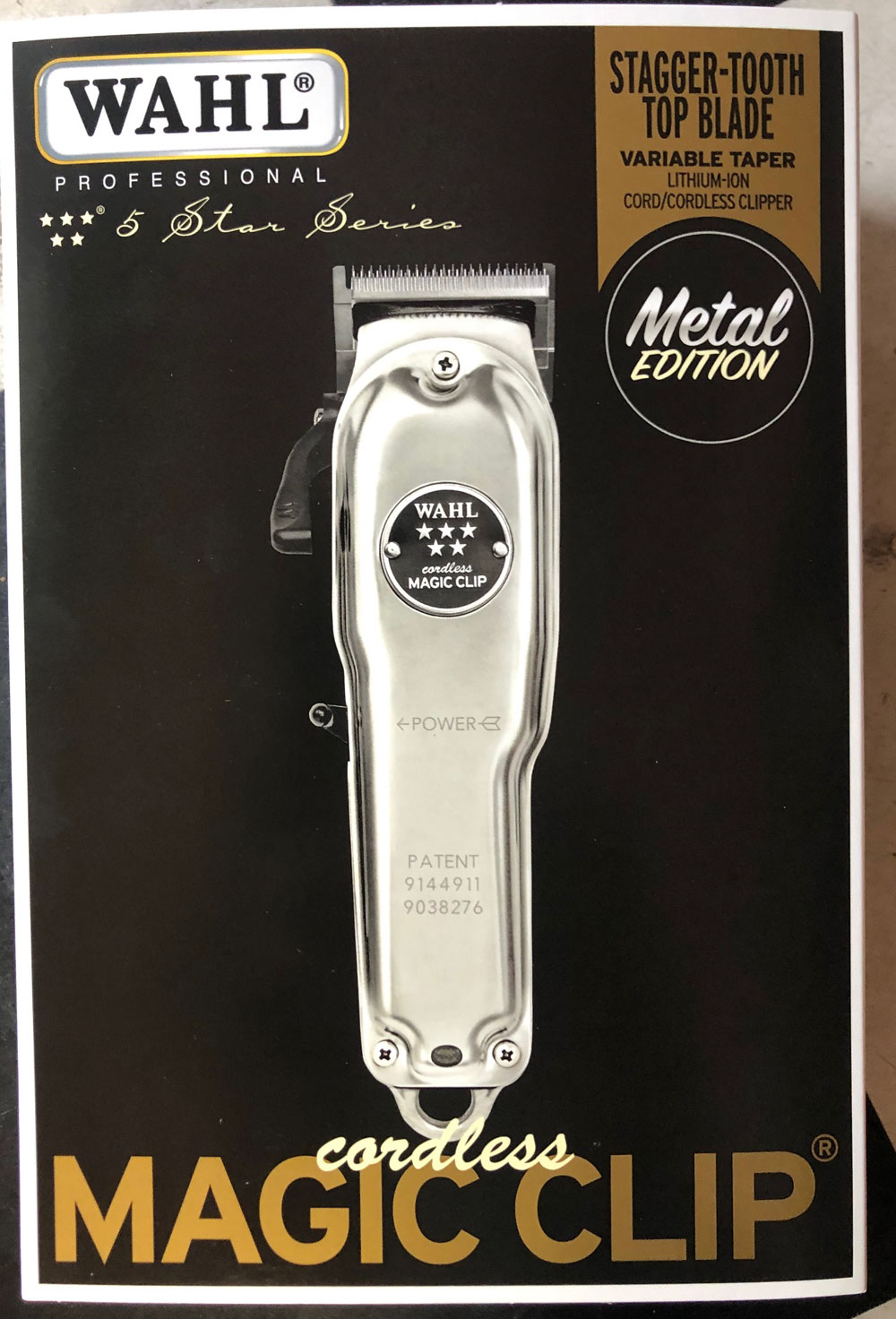 Wahl Cordless Magic Clip Limited Metal Edition