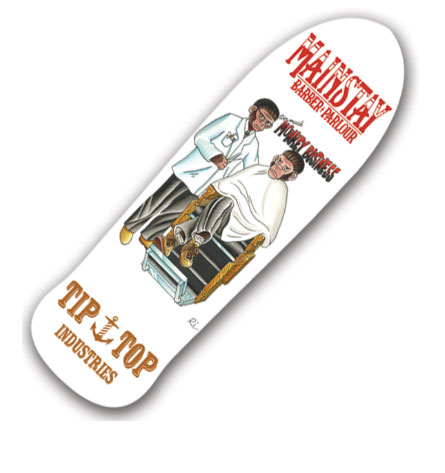 TIPTOP Sketeboard Main Stay Skate Deck