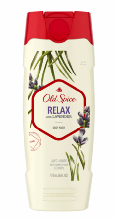 Old Spice ボディーウォッシュ Relax with Lavender Body Wash