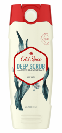 Old Spice ボディーウォッシュ Deep Scrub with Deep Sea Minerals Body Wash