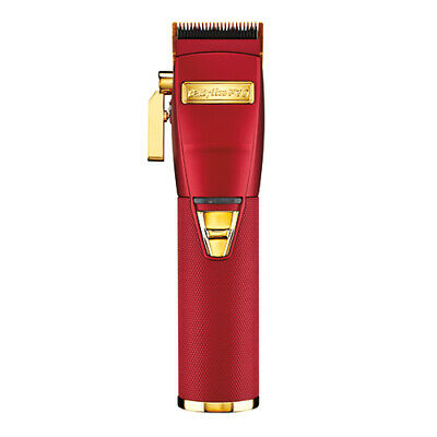 BaByliss PRO Cordless Clipper Red & Gold