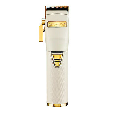 BaByliss PRO Cordless Clipper White & Gold