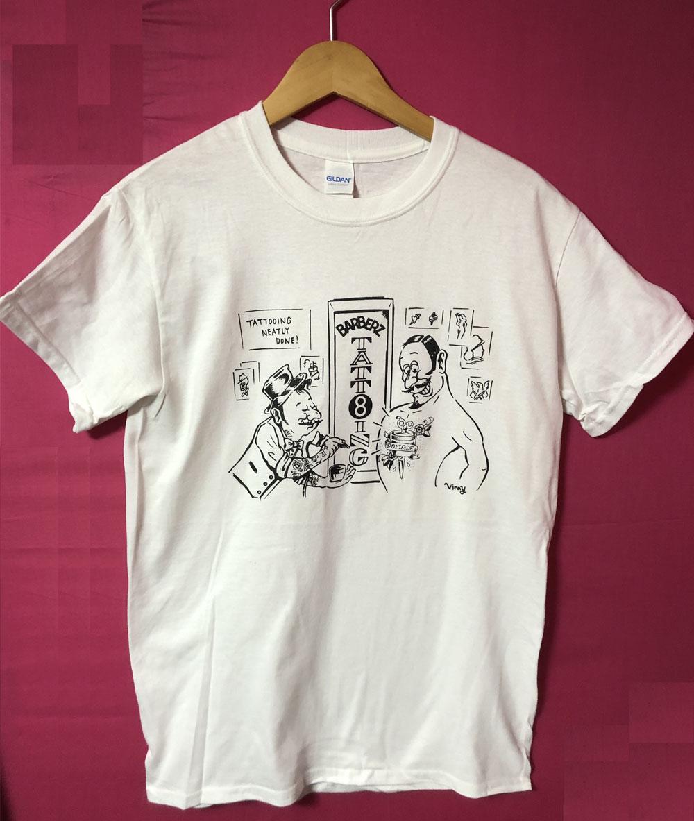 Barberz TATTOO Tシャツ