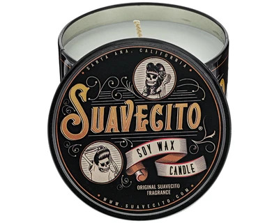 Suavecito Soy Wax Candle