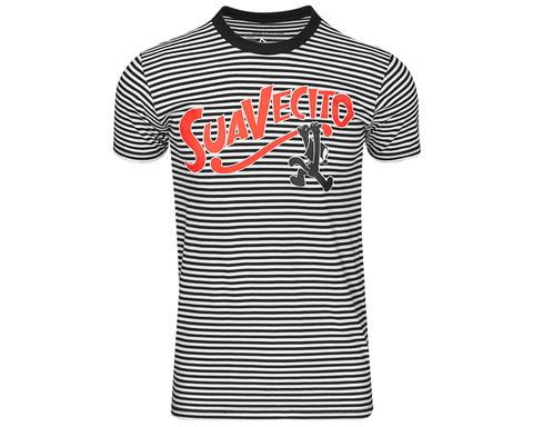 Suavecito Felix the Cat Breakout Striped Tシャツ