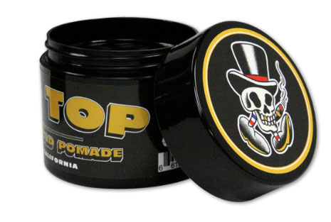Mr Tip Top Dapper Strong Hold Pomade with Fresh Scent black