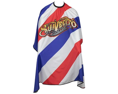 Suavecito BARBER Pole CAPE