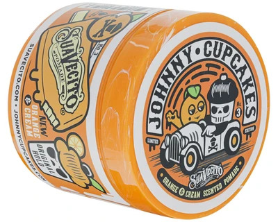 Suavecito X Johnny Cupcakes Original Hold Orange & Cream Pomade