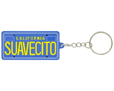 suavecito LICENCE PLATE KEYCHAIN