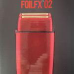 BabylissPro FoilFX02 Cordless RED Metal Double Foil Shaver
