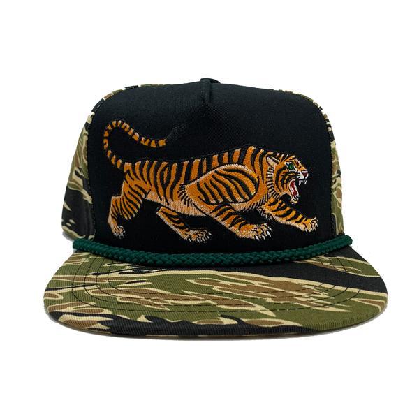 CAMO TIGER CAP STUNTIN