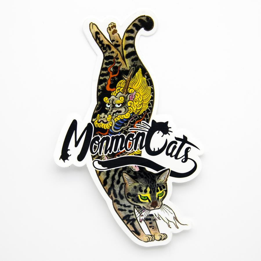 Monmon Cats Kirin Cat Sticker